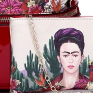 My Bag Lady Online Bags - Authentic Frida Kahlo Cactus Series Backpack